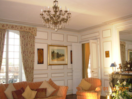 Chateau de La Celle Guenand: Chateau Lounge
