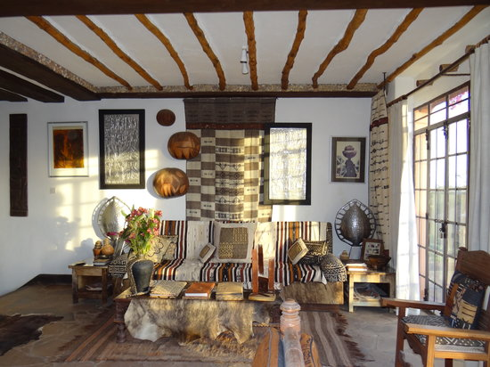 African Heritage House: Beautiful sitting room