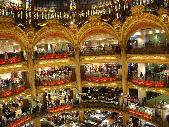 Pictures of Galeries Lafayette, Paris