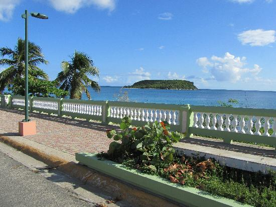 Malecon House: View from the front of the hotel