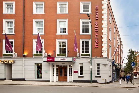 Mercure Nottingham City Centre Hotel: Nottingham Iconic George Hotel returned to it&#39;s former glory!