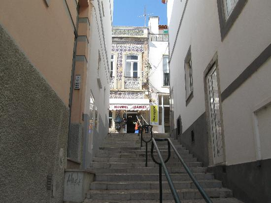 Vilabranca Apartments: The narrow streets