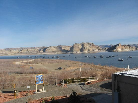 Lake Powell Resort: Aussicht