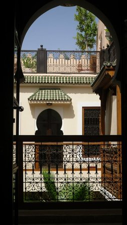 Riad RabahSadia: The view from our bed.