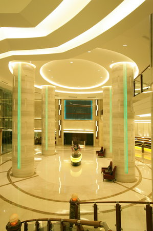 The Grand Fourwings Convention Hotel: Hotel Lobby