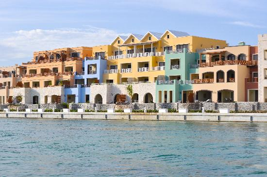 Fishing Lodge Cap Cana: View from the Grand Canal of the Marina Cap Cana.