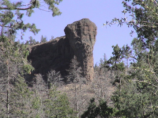 Elephant Head Lodge: Elephant Head Rock Formation