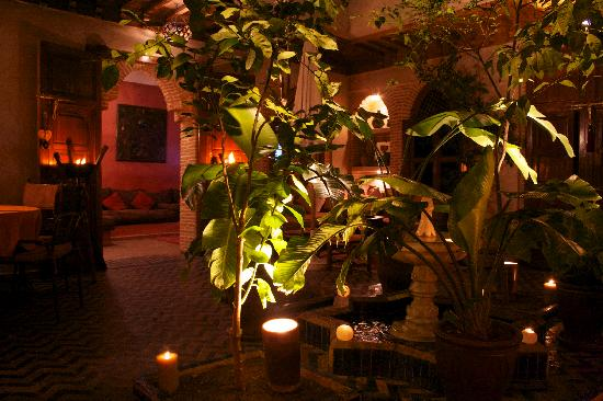 Riad Maipa: il patio
