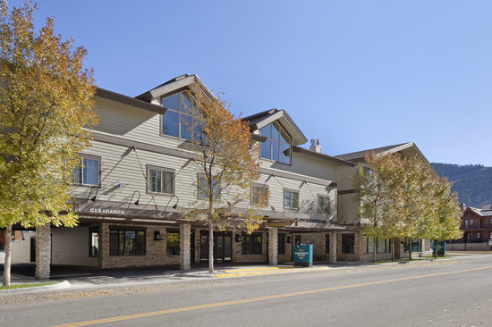 Homewood Suites Jackson Hole: Exterior view to the South