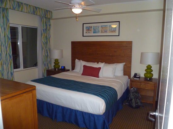 Wyndham Oceanside Pier Resort: Master Suite