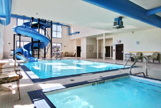 BEST WESTERN PLUS South Edmonton Inn & Suites: Pool, hot tub & waterslide
