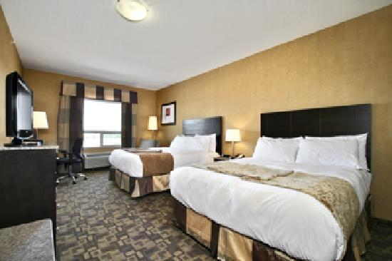 BEST WESTERN PLUS South Edmonton Inn & Suites: Two Queen Deluxe