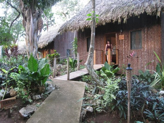 Mariposa Jungle Lodge: The cabanas are great!