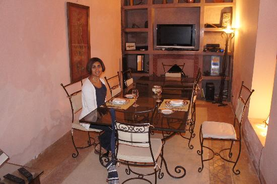 Riad Cannelle: Dining Area