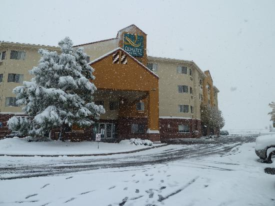 Quality Inn &amp; Suites Denver International Airport: Trotz Wintereinbruch sehr schn :-)