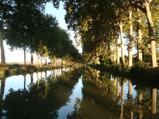 Languedoc-Roussillon, Frankreich: Serene Canal du Midi