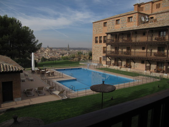 Parador de Toledo : from our balcony #215 