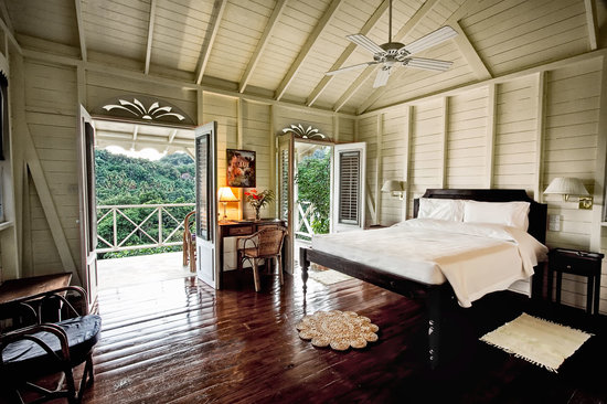 Beau Rive: Cottage room
