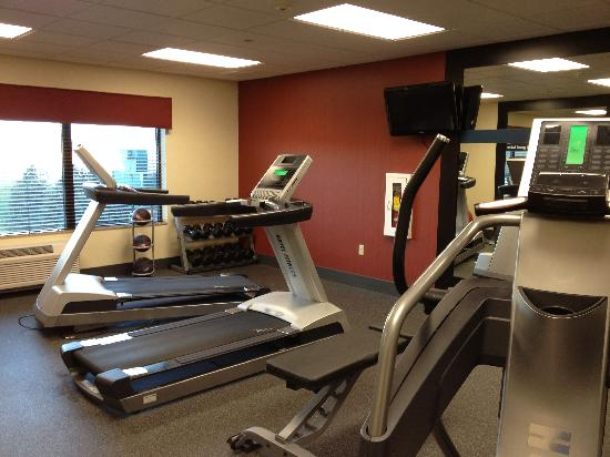 Hampton Inn Tomah: Treadmills