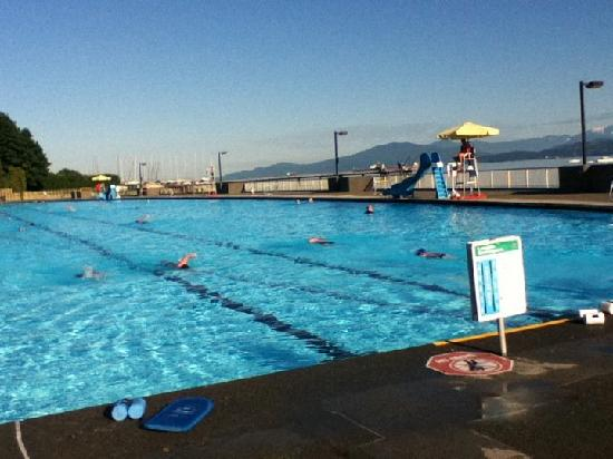 The Length Fools You In This Shot Picture Of Kitsilano Pool Vancouver Tripadvisor
