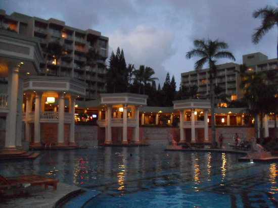 Marriott's Kaua'i Beach Club: pool area