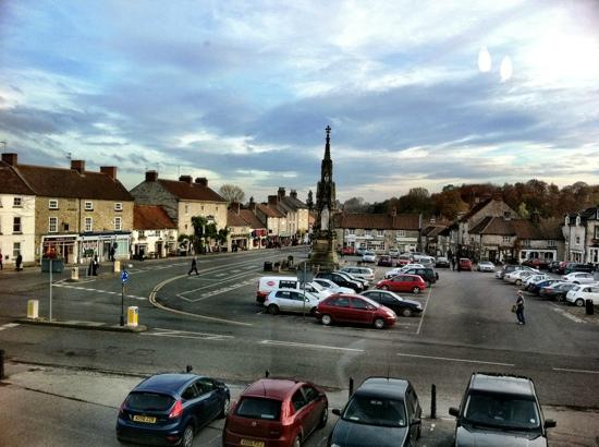 The Black Swan Hotel: Helmsley from bedroom