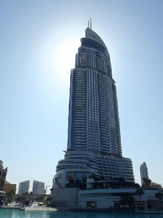 vista hotel - picture of address downtown, dubai