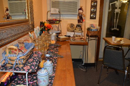 America&#39;s Best Inn Brattleboro: Sala della colazione