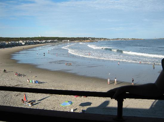 Cape Ann Motor Inn: View from our balcony