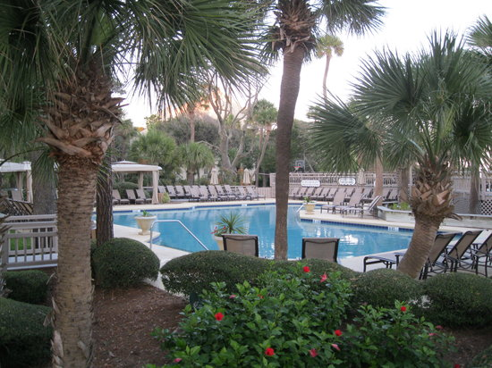Omni Hilton Head Oceanfront Resort: Pool Area