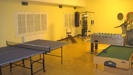Hotel Italia: Games/gym room