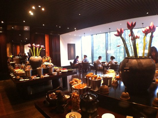 The PuLi Hotel and Spa: restaurant
