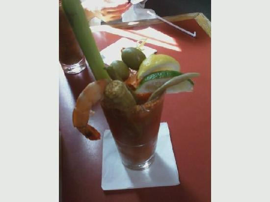 Their bloody mary for Marys fish camp fl