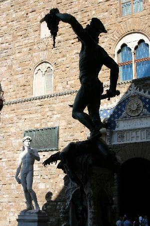 Hotel Rex: Cellini and Michelangelo