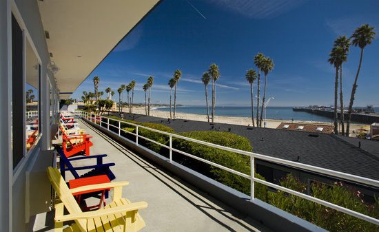 Beach Street Inn and Suites: Great View!