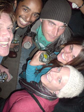 Durango Hometown Hostel: Candace and a few of the top guys I met staying at the hostel