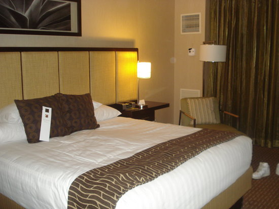 Hyatt Regency Scottsdale Resort and Spa at Gainey Ranch: Bed was comfy!!
