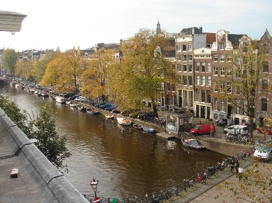 View from our 3rd floor room at Hotel Brouwer