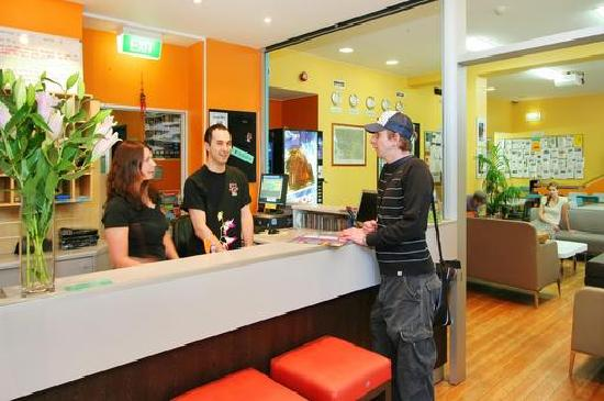 King Street Backpackers reception