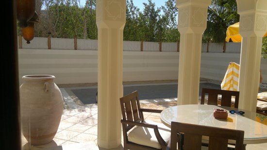 The Oberoi, Sahl Hasheesh: my private pool in the suite