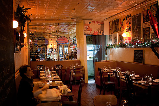 The Top Ten Cozy Restaurants In New York