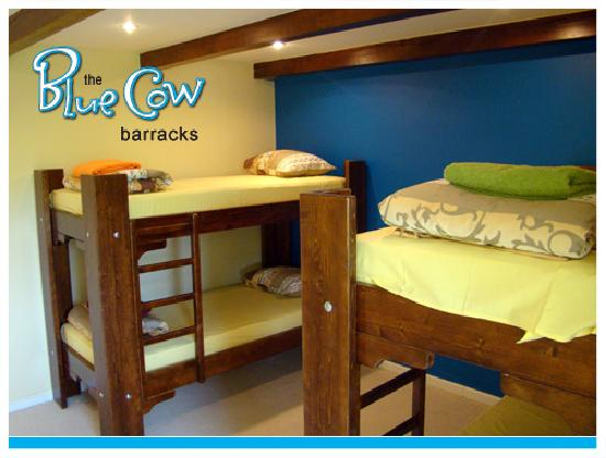 The Blue Cow Barracks Hostel: Four Bed Dorms
