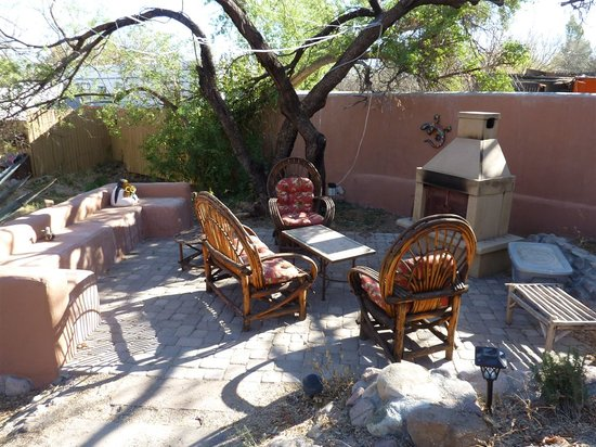 Tubac Country Inn: Courtyard