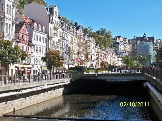 Karlovy Vary, Czech Republic: Amaziing style os houses