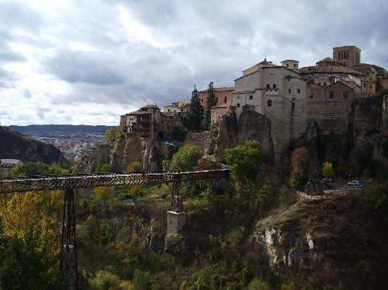 Parador de Cuenca: vistas desde la ventana