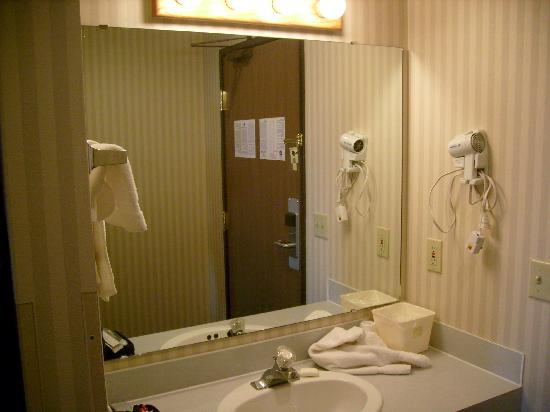 BEST WESTERN Blackfoot Inn: Vanity Area