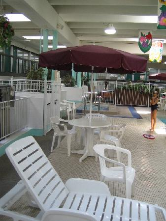 Clarion Inn Rochester: Poolside