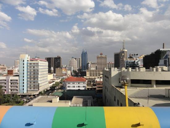 Kenya Comfort Hotel: View from the roof