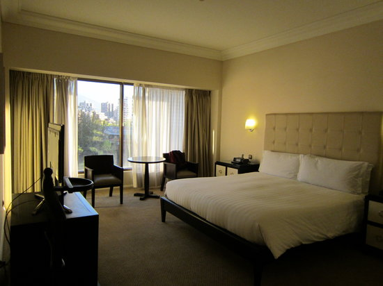 Grand Hyatt Santiago: Suite Bedroom