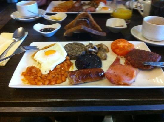 Scottish Breakfast Sausage Full Scottish Breakfast is